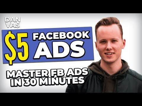 5$ Facebook Ads For Dropshipping In 2020 | MASTER FB Ads For Shopify In 30 Minutes!