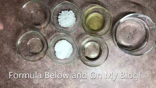 Learning The Basics Of Making Cosmetics From Home: Beginner Lotion Recipe