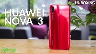 Huawei Nova 3, UNBOXING: un gama media con procesador de gama alta