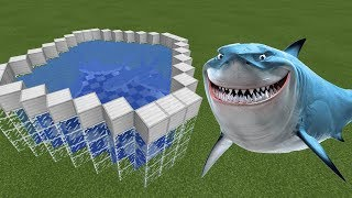 How To Make a SHARK FARM in Minecraft PE | MCPE Journalist
