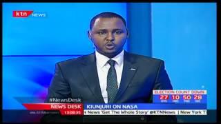 CS Kiunjuri tells Raila to come clean on issue; Kiunjuri on NASA