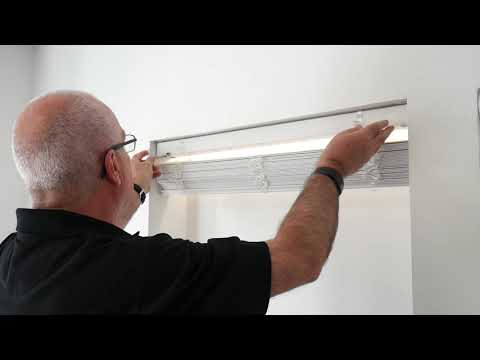 How to Install - Wooden Blinds Fitting Recess