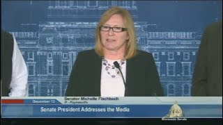 Sen Fischbach Plans To Remain In Senate While Serving As Lt. Governor In MN - Full News Confrence