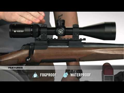 Vortex Crossfire II Rimfire Riflescope Demo Video