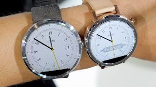 Moto 360 vs Moto 360 (2nd Gen): Show Floor Comparison | Pocketnow