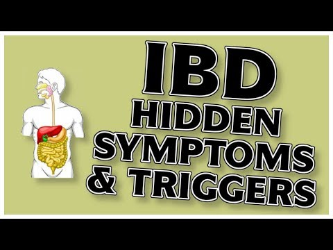 Video IBD: Crohns Disease And Ulcerative Colitis - Hidden Symptoms, Triggers (Cure)