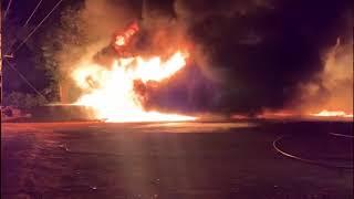 Mais um incêndio de grandes proporções foi registrado em Patos de Minas.