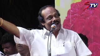 Premalatha Vijayakanthஐ செம கலாய்  Dindigul Leoni comedy speech | DMK |STV
