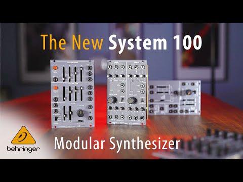 ברינגר נכנסת למודולר עם  System 100M