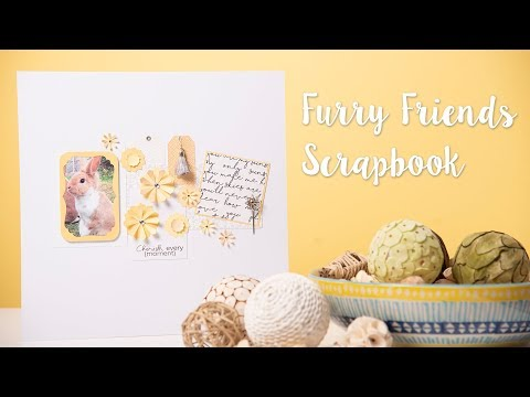 Animal Friends Scrapbook - Sizzix