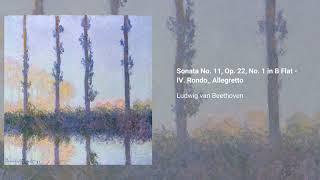 Piano Sonata no. 11 in Bb, Op. 22
