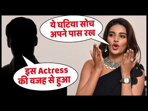 Nidhhi Agerwal ने की घटिया सोच वाले लड़के की बोलती बंद