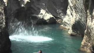 preview picture of video 'Canyoning in der Südtürkei'
