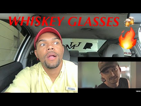BAD BREAKUP SOLUTION 😎🍻| MORGAN WALLEN - WHISKEY GLASSES (REACTION)