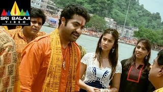 Shakti Movie MS And JrNTR Dialogue Scene  JrNTR Ileana  Sri Balaji Video