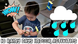 10 RAINY DAYS INDOOR ACTIVITIES FOR 3 YEAR OLD | HOW I ENTERTAIN MY 3 YEAR OLD