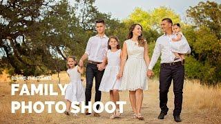 BIG FAMILY PHOTO SHOOT Behind The Scenes Svitlana Vronska Sacramento Family Photographer