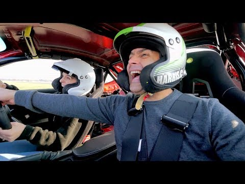 Chris Harris and Vicky McClure Lap | Top Gear: Series 25