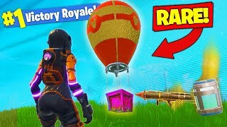 RAREST SUPPLY DROP *FOUND* In Fortnite Battle Royale!