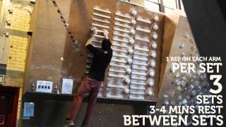 Strength training for climbing: the campus board by Depot Climbing Centres