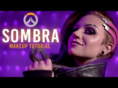 SOMBRA Overwatch Makeup Tutorial [feat. boyinaband]
