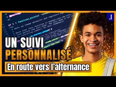 Video Une école informatique qui vous accompagne à 100% dans l'ALTERNANCE