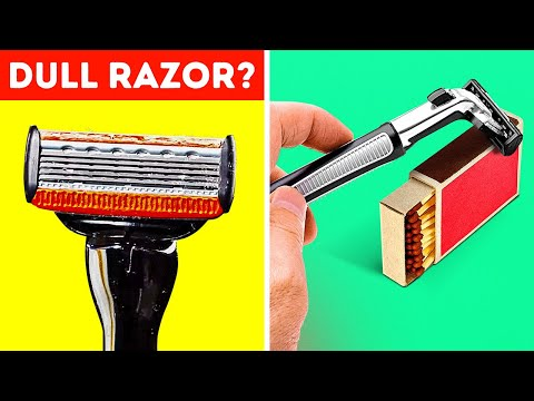 24 HOLY GRAIL HACKS WITH DIFFERENT BLADES