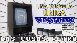 TODO sobre la VECTREX 👾 Consola vectorial