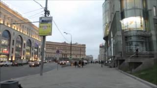 Прогулки по Москве: стена Китай города.