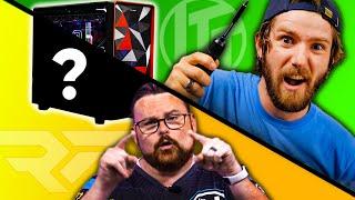 Custom $5000 Gaming PC CHALLENGE - Linus vs RobeyTech