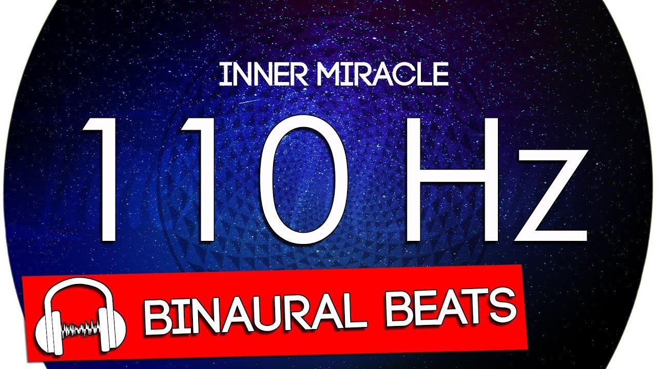 110 Hz Tone 1 Hour Binaural Beats Frequency LFO 7 83 hz