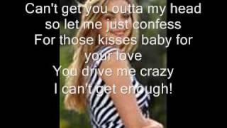 Charlotte Church Crazy Chick lyrics on screen!