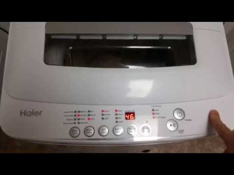 Haier 2.3 cu. ft. HLP28E Compact Washing Machine Review Portable Washer