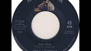 John D. Loudermilk - Bad news (1963)
