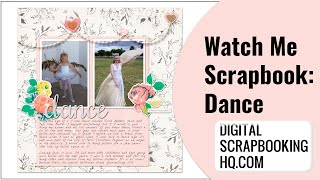 How To Make A Digital Scrapbook Page Photoshop Elements