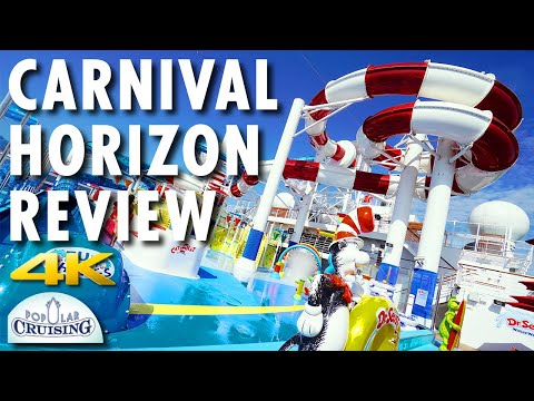Carnival Horizon Tour & Review ~ Carnival Cruise Line ~ Cruise Ship Tour & Review [4K Ultra HD]