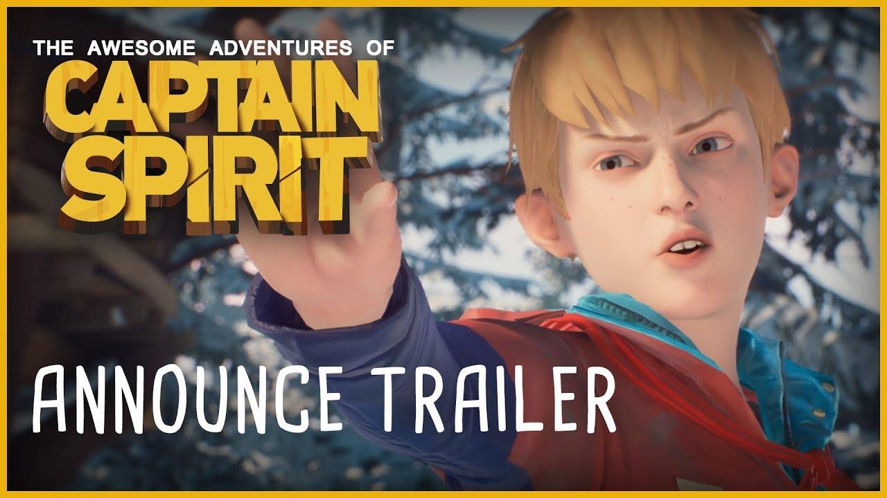 Captain Spirit Announce Trailer