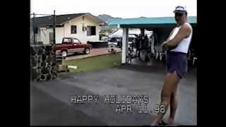 preview picture of video 'Moped ride Kaneohe 1998 Paleka Road'