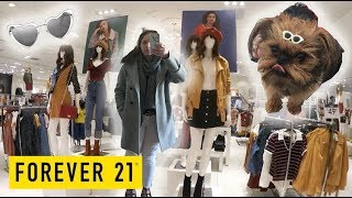 FOREVER 21 Shopping Vlog 🍂Come With Me! Fall Fashion Inspiration + Designer & Luxury Dupes