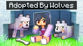 Adopted By WOLVES In Minecraft!