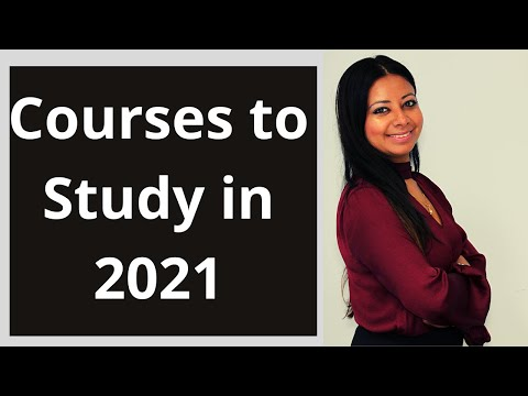 Courses to study in Australia in 2021