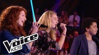 """Valentin / Lilou / Marilou - """"Je ne sais pas""""   The Voice Kids France 2017   Battle"""