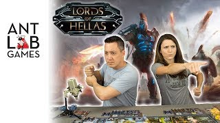 Lords of Hellas Playthrough Review