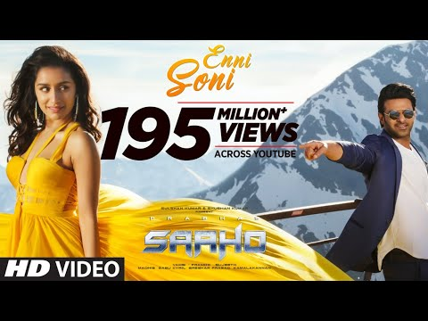 Enni Soni Hindi Video Song By Saaho Movie