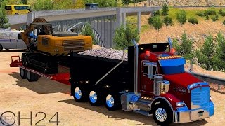 ATS Mods - Kenworth T800 Custom Dump Truck - American Truck Simulator