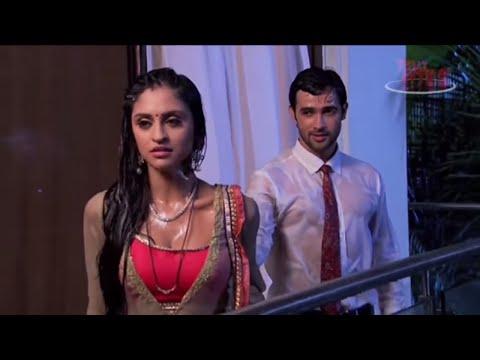 Sakshi and karan romantic scene