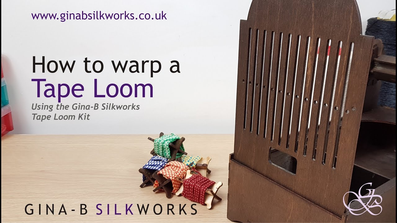 How to warp a tape loom