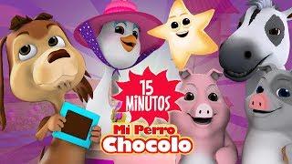 ENGANCHADOS -MUCHAS CANCIONES INFANTILES - MI PERRO CHOCOLO - CANCIONES INFANTILES