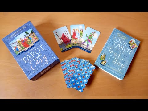 "☀️ Tarot Made Easy (Review) ~ Llewelyn Classic Tarot & ""Your Tarot your Way"" Barbara Moore"