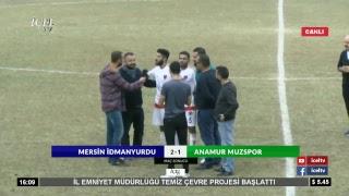 #Canlı Mersin İdmanYurdu - Anamur Muzspor Maçı 2. Yarı